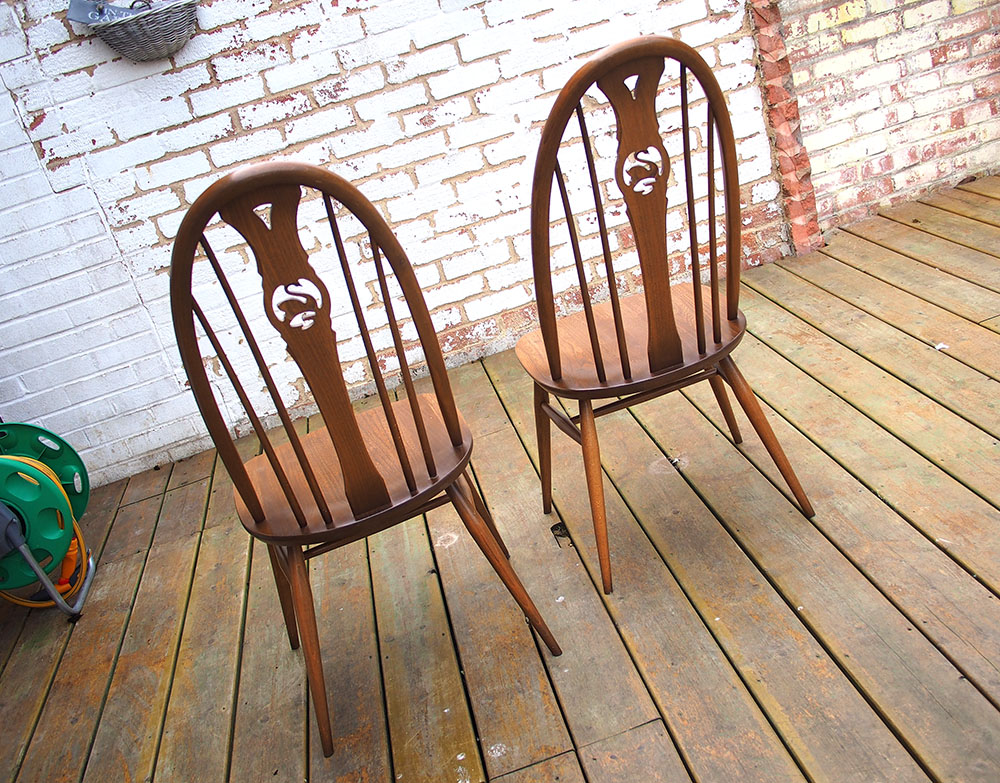 Ercol Swan Back Dining Chairs x4 In Fruitwood Excellent : 1705141026 from www.ebay.co.uk size 1000 x 783 jpeg 324kB